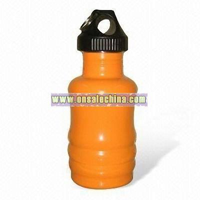 350M Single Wall Stainless Steel Bottle
