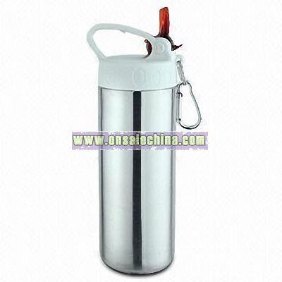 20 oz.Single Wall Stainless Steel Sports Bottle