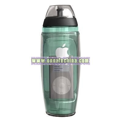BPA-free two-in-one sports bottle