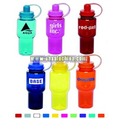 Yukon 22 oz. sport bottle with wide mouth for ice cubes or powdered drinks