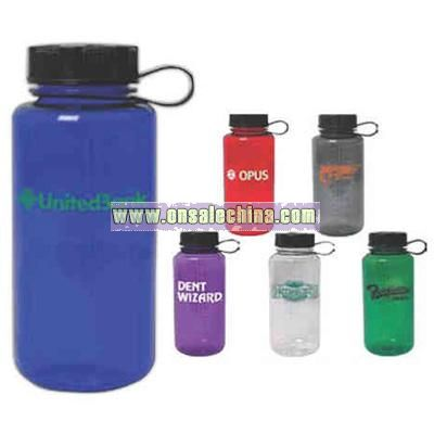 Round 32 oz. polycarbonate water bottle
