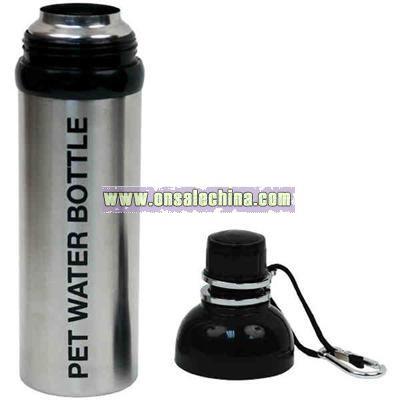 24 oz. Pet stainless steel water bottle