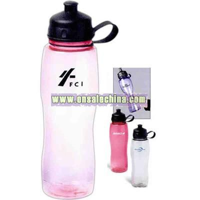 Ultra thin construction water bottle