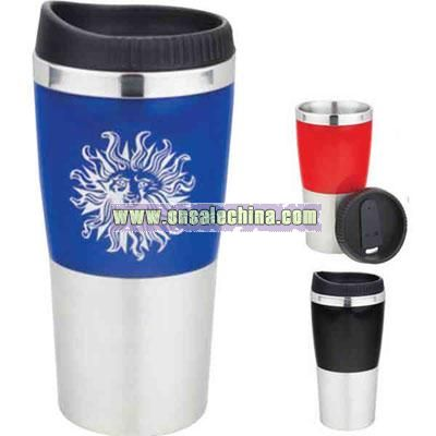 Two-tone stainless steel tumbler