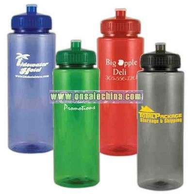 Thirty two ounce sports bottle BPA free