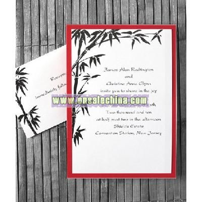 chic elegance wedding cards
