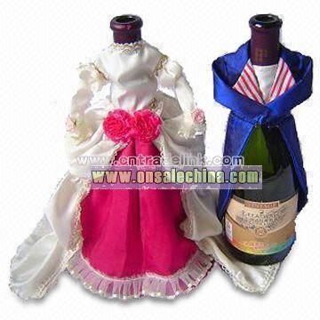 Wedding Wine Bottle Cover