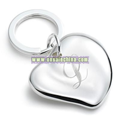 Free-Form Heart Keychain