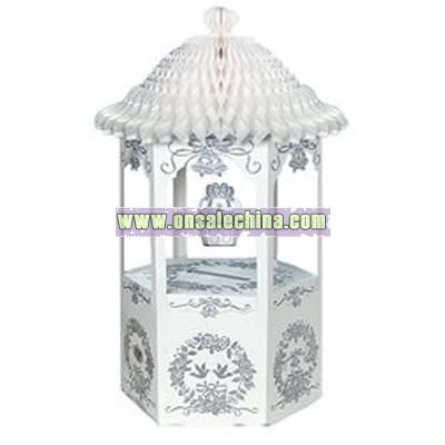 Silver Imprinted Wishing Well