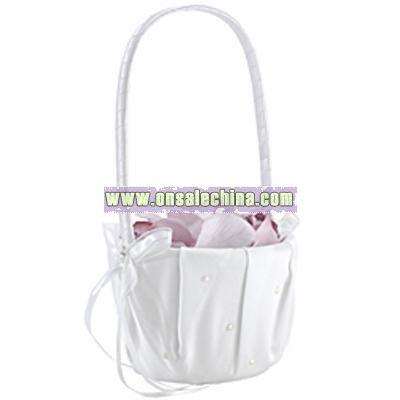 Amore Flower Girl Basket