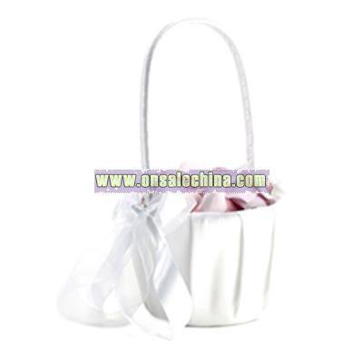 Eternal Flower Girl Basket