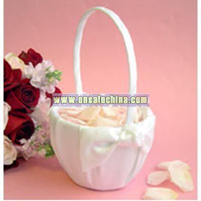 Love Knot Flower Girl Basket