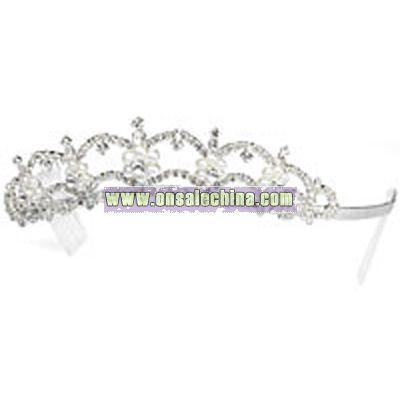 Pearl Flower Tiara