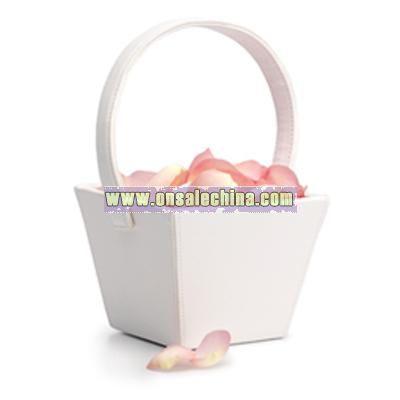 Square Flower Girl Basket