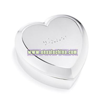 Large Heart Jewelry Box