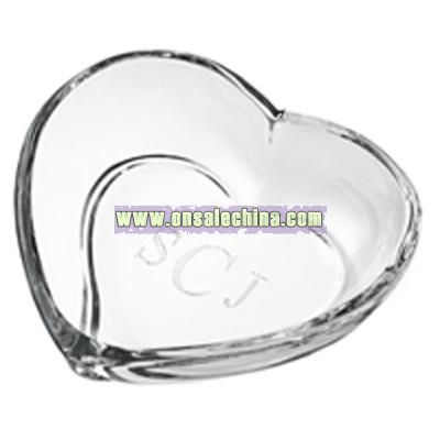 Waterford Crystal Siren Heart Dish