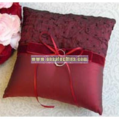 Serenade Bow Ring Pillow