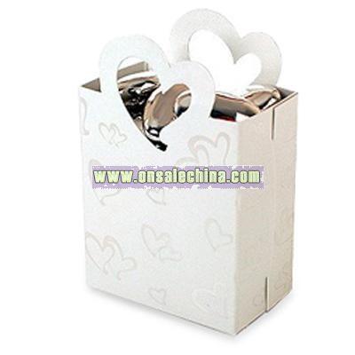 Heart Gift Bag Favor Holders