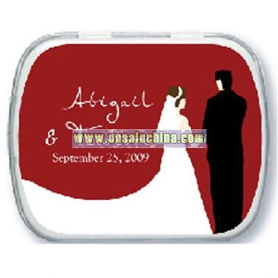 Newlyweds Personalized Mint Tins