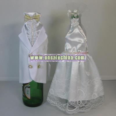 Wedding Bottle Cover