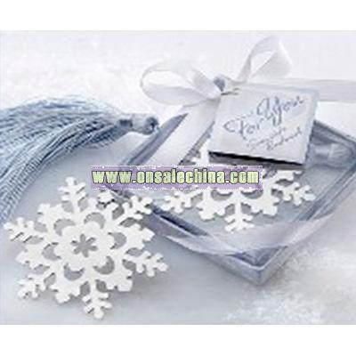 Wedding Snowflake Bookmark