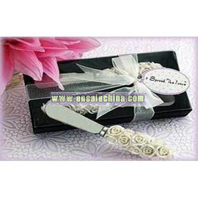 Rose Butter Knife