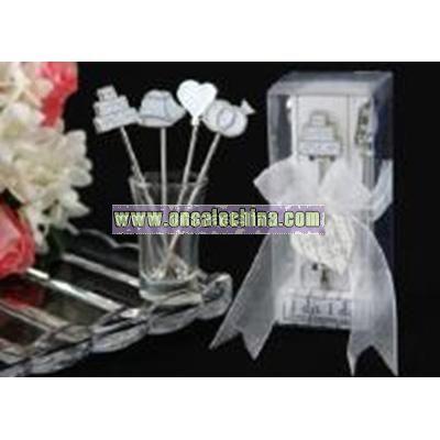 Romantic Wedding Fruit fork