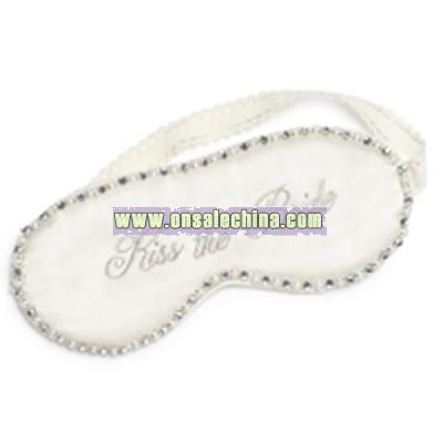 Kiss the Bride Silk Sleep Mask