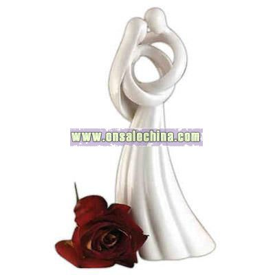 Contemporary porcelain figurine