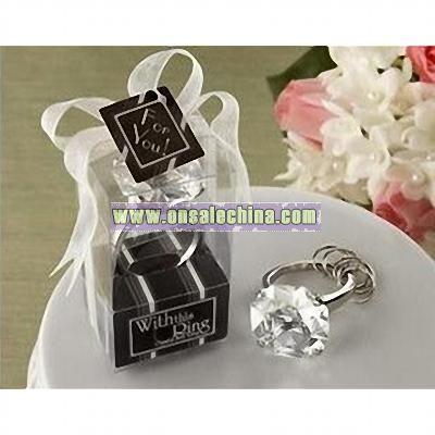 Crystal Wedding Diamond Keychain