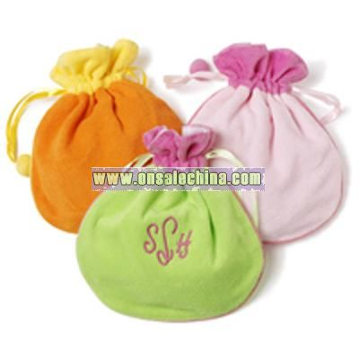 Terry Jewelry Pouch