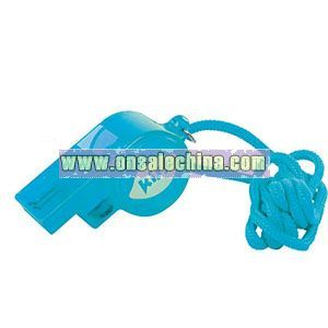 FLASHING FOOTBALL WHISTLES