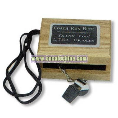 Whistle in presentation box