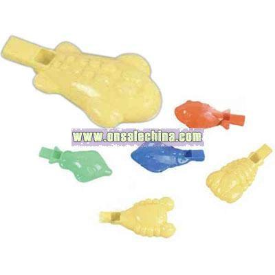 Sea life blow whistle