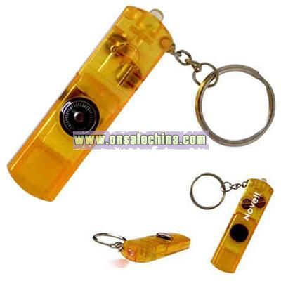 Three function whistle