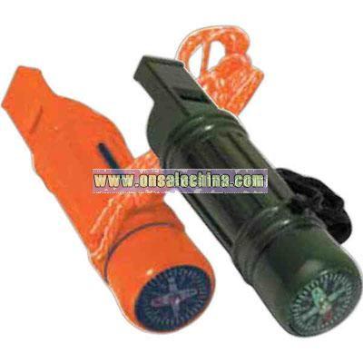 Whistle survival tube