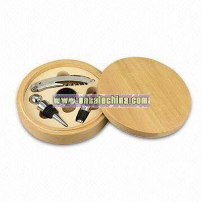 Wooden Box Bar Set