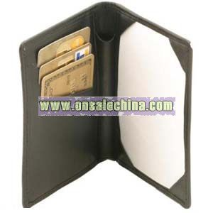 Leatherette Pocket Note Pad