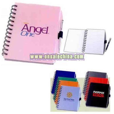 Hard cover coordinator journal spiral notebook