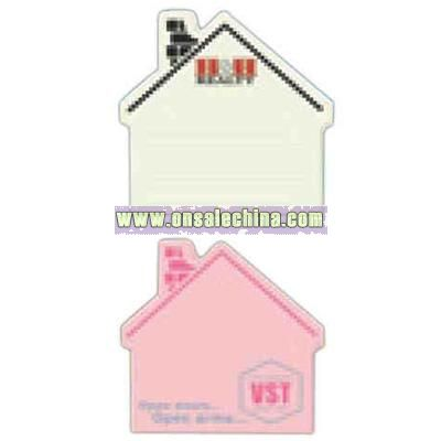 House Shaped Post-it (R) - Die cut note