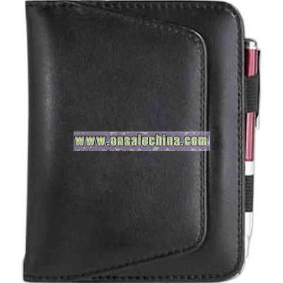 magnetic exterior pocket jotter pad