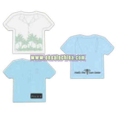 Shirt Shaped Post It (R) - Die cut note