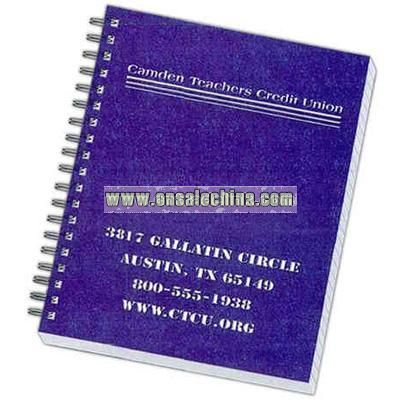 Poly cover note book