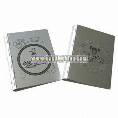 Organizer/Notebook/Address Book with Aluminum Covers