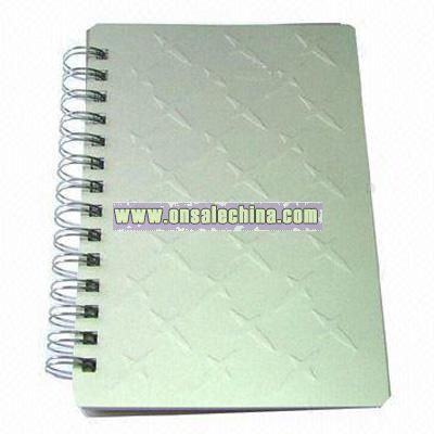 Aluminum Cover Notebook/Address Book