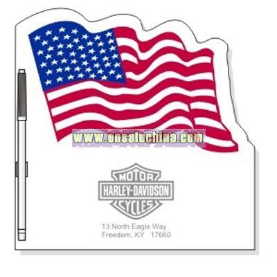 Flag Memo Board