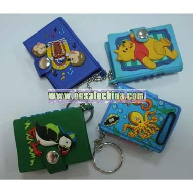 Note Book Key Chain