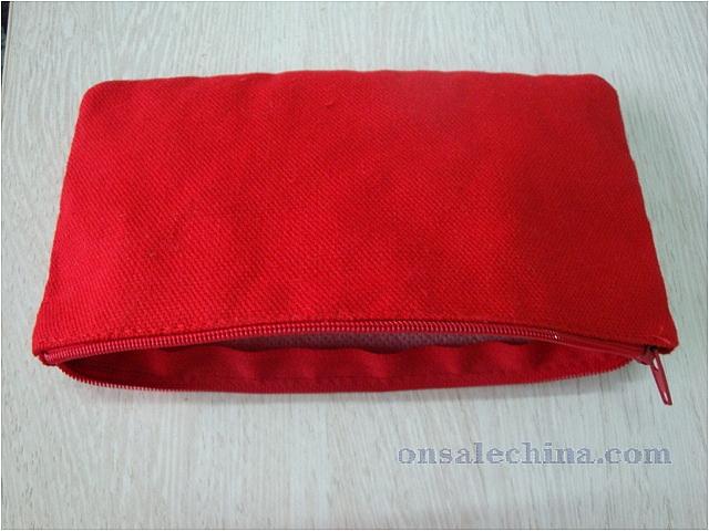 Canvas zip up bag