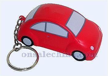 Car Stress Ball Keychain