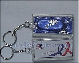 Condom Keychain